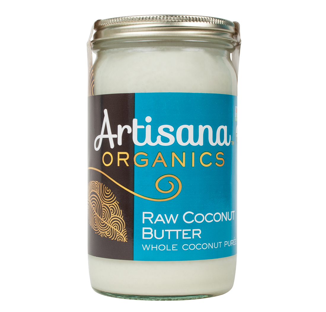 RAW COCONUT BUTTER (14oz) 396g